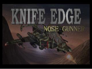 Knife Edge - Nose Gunner